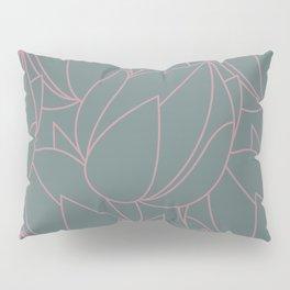 Succulent floral element & patterns VI Pillow Sham
