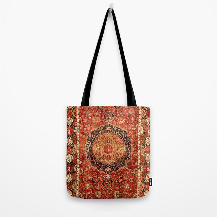 Seley 16th Century Antique Persian Carpet Print Umhängetasche