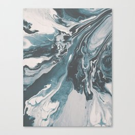 Teal (soul mate) Canvas Print