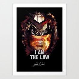 Judge Dredd - Sylvester Stallone Art Print