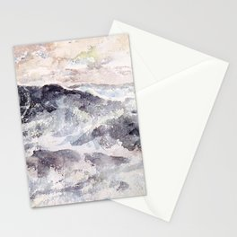 Arrangement In Blue And Silver The Great Sea By James Mcneill Whistler | Reproduction Stationery Cards
