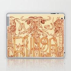A Língua dos Demônios Laptop & iPad Skin
