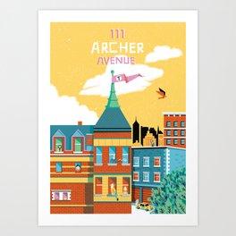 Royal and Company Art Print