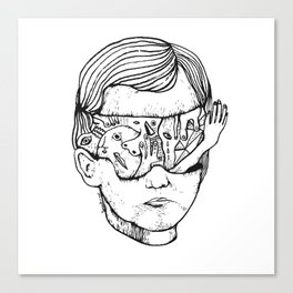 Concussion Canvas Print