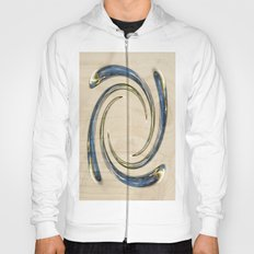Flower Globe Bubble on Wood Hoody