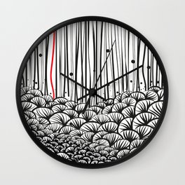 girasoli (stand by me) Wall Clock