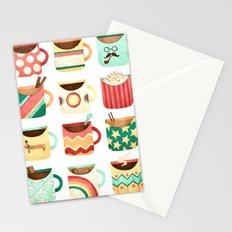 Coffee Coffee Coffee Coffee Coffee Stationery Cards