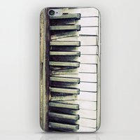 piano iPhone & iPod Skins featuring piano by hilde.