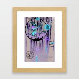 La Chasse Aux Carottes Framed Art Print