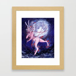 Bloom La Lune Framed Art Print