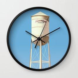 America Water Co. Wall Clock