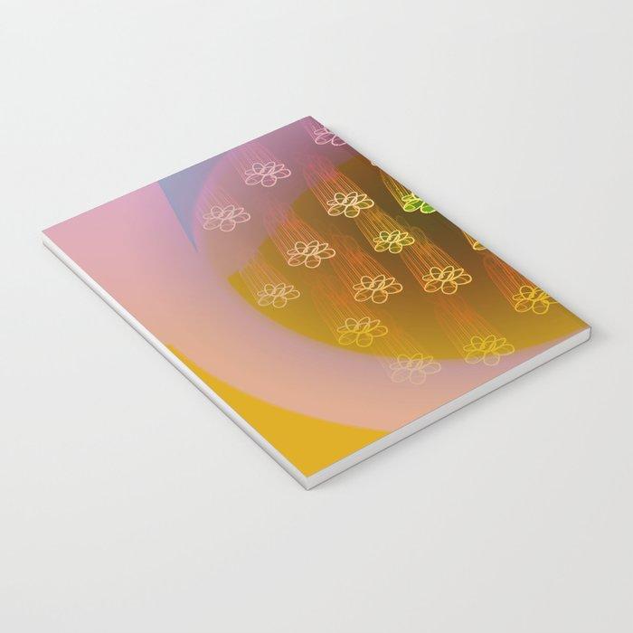 Floral Rain Notebook