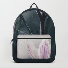 Crocus in the Rain. Backpack