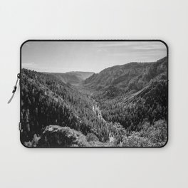 Black & White Arizona Laptop Sleeve
