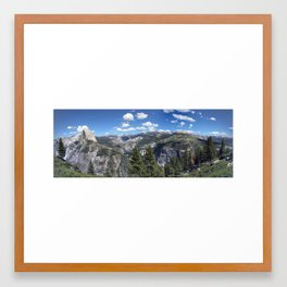 Yosemite Overview Framed Art Print