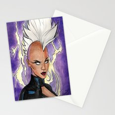 Fear The Storm Stationery Cards
