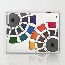 Rouget de Lisle - Table Chromatique 1838, Remake, renewed version Laptop & iPad Skin