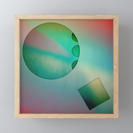 NO STUMBLE Framed Mini Art Print