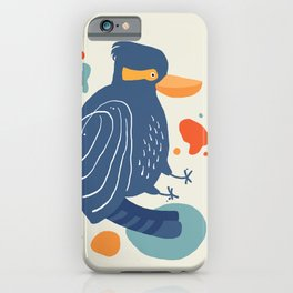 Quirky Laughing Kookaburra iPhone Case