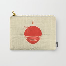 """Japan relief poster/all proceeds will go to """"Peace Winds"""" Carry-All Pouch"""