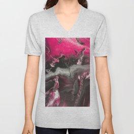 Pink Lighting Unisex V-Neck