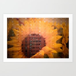 Flowerfull Projects Art Print