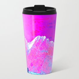 Alpenglow in Violet Travel Mug