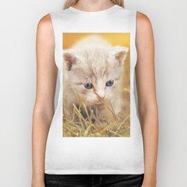Kitten | Chaton Biker Tank