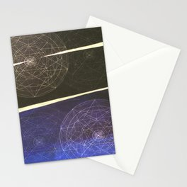 Between the Devil and the Blue sea Stationery Cards