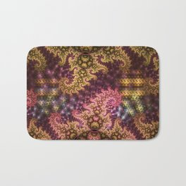 Dragon dreams, fractal pattern abstract Bath Mat