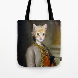 The Cat Duke Tote Bag