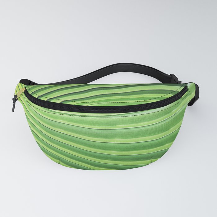 Palm Leaf Fanny Pack