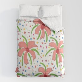 Tropical Fiesta Flowers Comforters