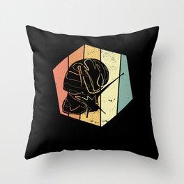 Snail Vintage Throw Pillow