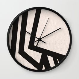 Feet in the Sand Wall Clock