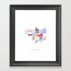 For Japan with love 2 Framed Art Print