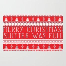 Merry Christmas, Shitter Was Full Rug