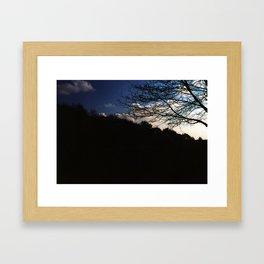 Temple Newsam Sky Framed Art Print