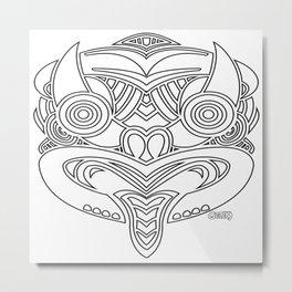 Bullseye 2 Metal Print