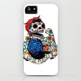 We Can Do It Skull iPhone Case