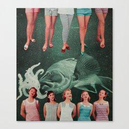 FISHY Canvas Print