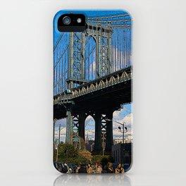 manhattan bridge iPhone Case