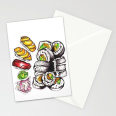 Sushi Dinner. Stationery Cards