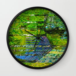 Landscape of My Heart (segment 4) Wall Clock