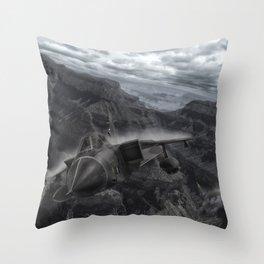 Tornado alley Throw Pillow