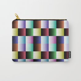 Multicolor geometric pattern. Carry-All Pouch