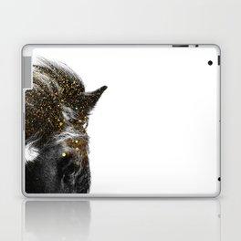 golden horse Laptop & iPad Skin