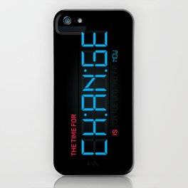 CH:AN:GE iPhone Case