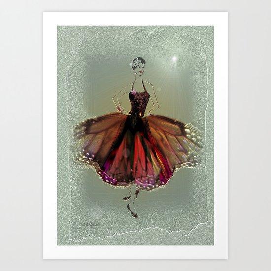 DANCER - A star is born Art Print