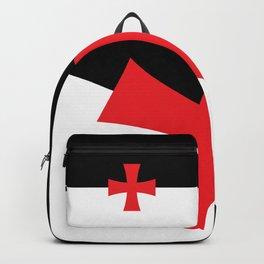 Knights Templar Flag Backpack